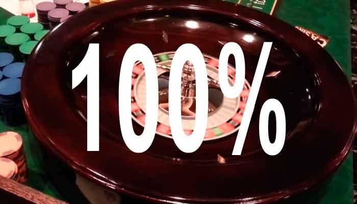 100 Bônus de Cassino ao Vivo